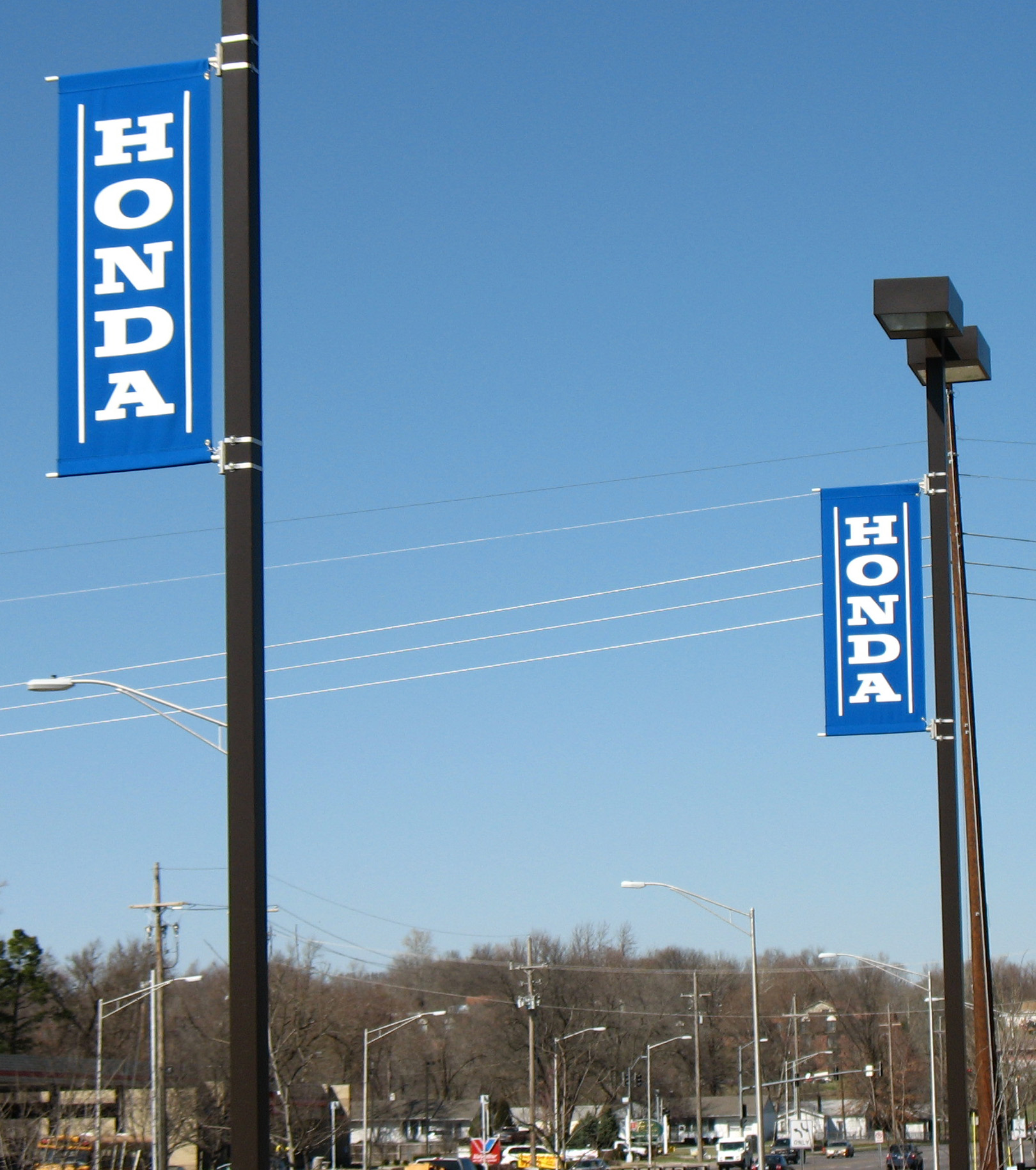 Boulevard / Pole Banners