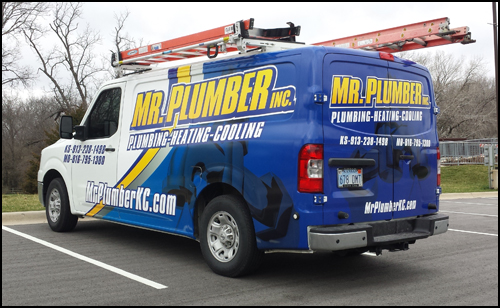 MrPlumber Fleet Graphics